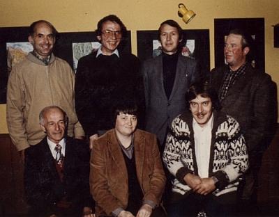Der erste Vorstand von 1980